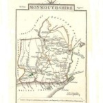 Monmouthshire antique map