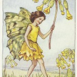 Flower Fairies Cowslip Fairy original old print for sale