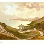 Jersey antique print of Bouley Bay Channel Islands