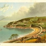 antique print of Anne Port Jersey Channel Islands