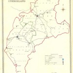 Cumberland antique map
