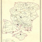 Hampshire & Isle of Wight antique map