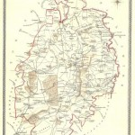 East Retford Nottinghamshire antique map