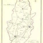 Nottinghamshire antique map