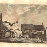 Newport Arch Lincoln antique print