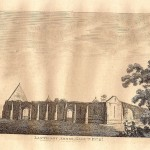 Llanthony Priory Monmouthshire antique print