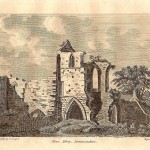 Cleeve Abbey Somerset antique print