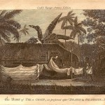 Tahiti  Otaheite antique print