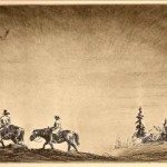 old cowboys print by Levon West