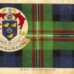 Fergusson clan Scottish tartan