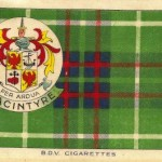 Macintyre tartan silk for sale