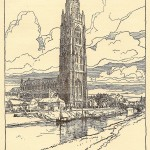 antique print boston stump