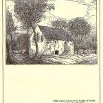 Knights Hospitaller Harefield Middlesex old print