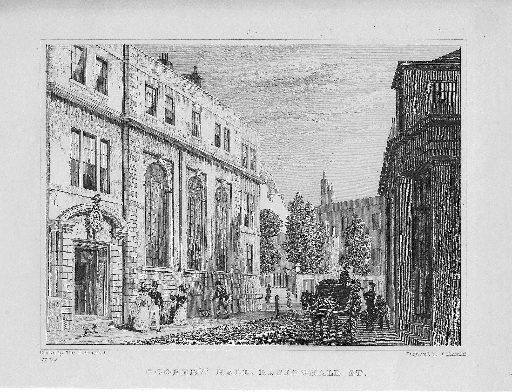 Coopers Hall Basinghall Street London Frontispiece