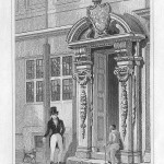 antique print Painter Stainer's Hall, Little Trinity Lane, London. 1830