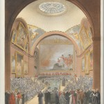 common council chamber, guildhall, 1808