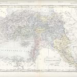turkey in asia antique map 1871