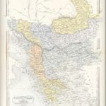 turkey in europe greece crete antique map 1871