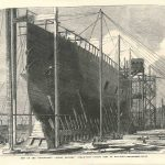 Leviathan Great Eastern antique print low