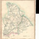 London Rochester Canterbury Laurie & Whittle antique road map