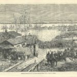Arrival at Charleston of Volunteers from Louisiana American Civil War June 1861
