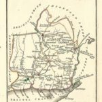 Monmouthshire Wales antique map by Georgian cartographer John Cary 1812