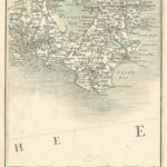 Devon from Cary's Map of England and wales Published 1794 - Plate 3