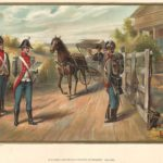 The United States Army and Navy - US Army Officer and Privates of Infantry 1802-1810