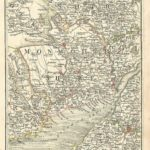 Monmouthshire antique map from Cary's Map of England and wales Published 1794 - Plate 22