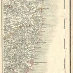 Suffolk Norfolk antique map Cary's Map of England and Wales 1794 plate 36