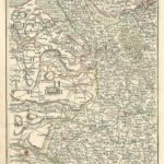 liverpool Chester Wrexham Oswestry Flintshire Lancashire Cheshire Cary's Map of England and wales antique map Published 1794 - Plate 40