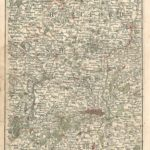 Middlesex essex Kent Hertfordshire Berkshire surrey antique map Cary's Map of England and wales Published 1794 - Page 25