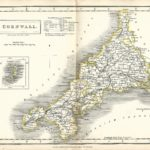 Cornwall antique map Sidney Hall's Travelling Atlas With All The Railroads 1860 - Page 7