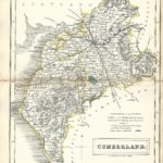 Cumberland Cumbria Sidney Hall's Travelling Atlas With All The Railroads 1860 - Page 8