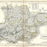 Essex antique map Sidney Hall's Travelling Atlas With All The Railroads 1860 - Page 13