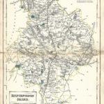 Huntingdonshire Hunts antique map Sidney Hall's Travelling Atlas With All The Railroads 1860 - Page 18