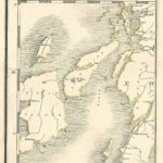 Jura antique map Cary's Map of England and wales Published 1794 - Plate 73