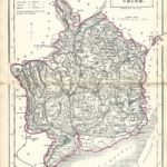 Monmouthshire antique map Sidney Hall's Travelling Atlas With All The Railroads 1860 - Page 25