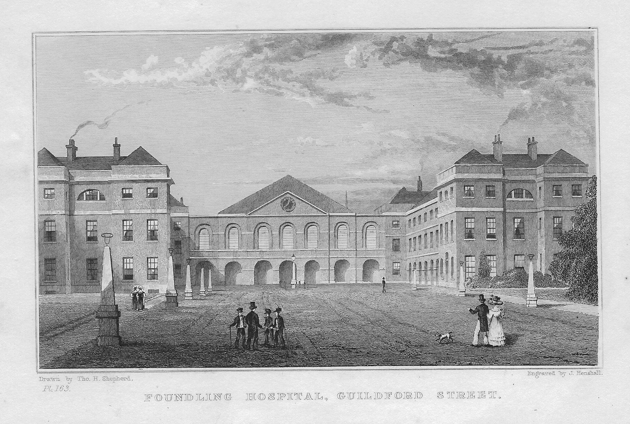 You tell London foundling hospital doubt it