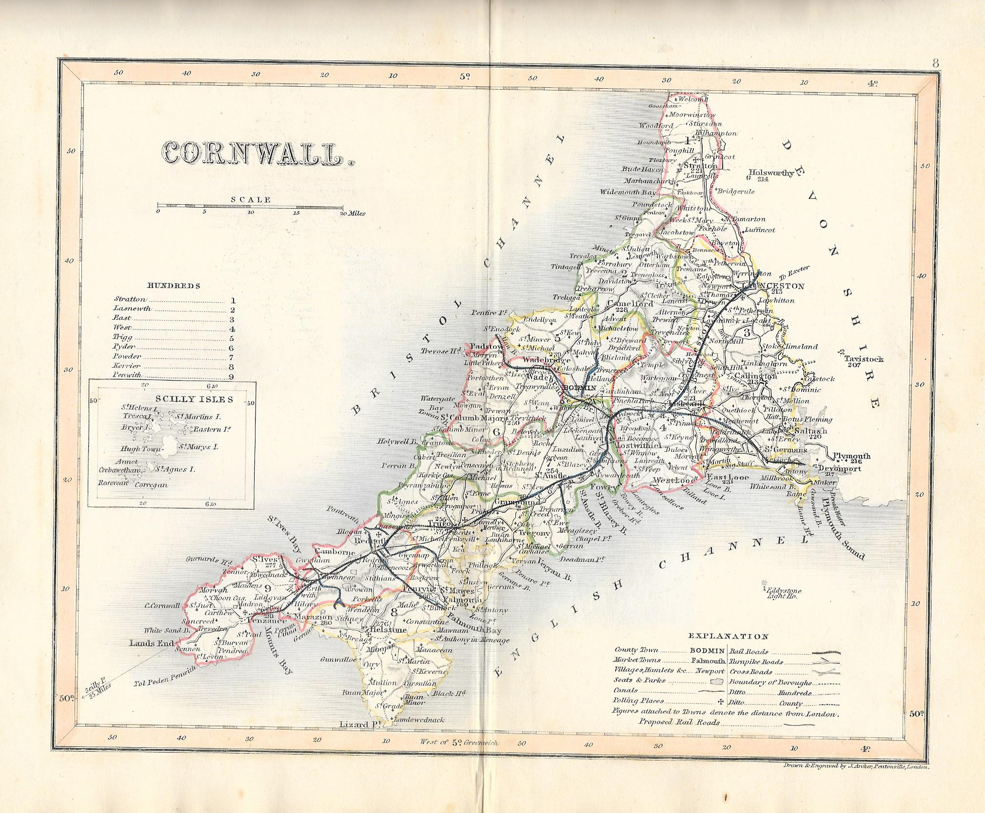 Cornwall antique map on wales map, stonehenge map, monroe woodbury map, isle of wight map, st. catharines map, stuyvesant map, dorsetshire map, england map, eden project map, united kingdom map, derbyshire map, scotland map, ontario highway 401 map, wychwood map, western highlands map, devon map, quebec map, rondout valley map, carlisle map, orkney islands map,